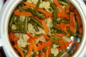 Sauted vegetables